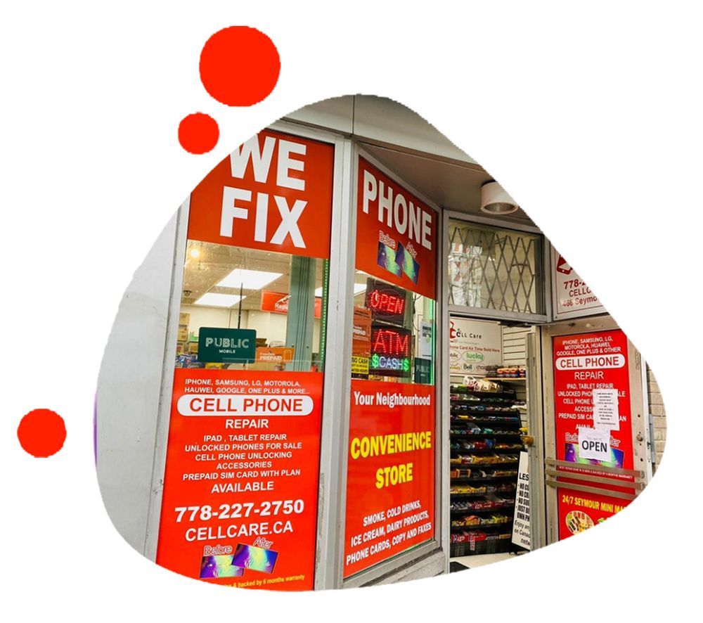 Cell Care Cell Phone Repair 468 Seymour St Vancouver BC V6B 3H1 Canada
